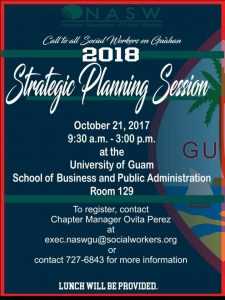102117 NASW 2018 Strategic Planning