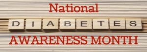 November 2017 Is National Diabetes Awareness Month